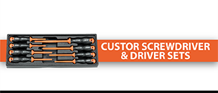 Picture for category Custor Screwdriver & Driver Sets