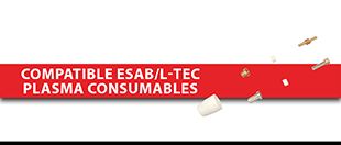 Picture for category Compatible ESAB/L-TEC PLASMA Consumables