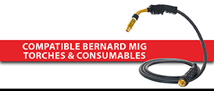Picture for category Compatible Bernard MIG Torches & Consumables