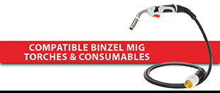 Picture for category Compatible Binzel MIG Torches & Consumables