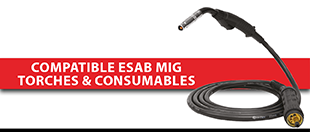 Picture for category Compatible ESAB MIG Torches & Consumables