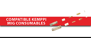 Picture for category Compatible Kemppi MIG Consumables