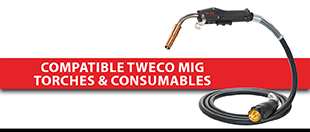 Picture for category Compatible Tweco MIG Torches & Consumables