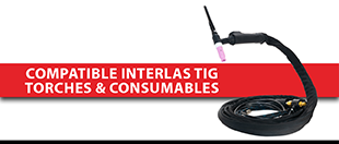 Picture for category Compatible Interlas TIG Torches & Consumables