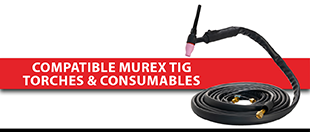 Picture for category Compatible Murex TIG Torches & Consumables