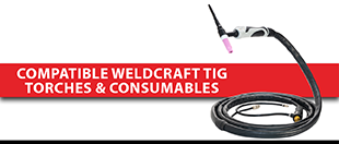 Picture for category Compatible Weldcraft TIG Torches & Consumables