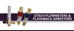 Picture for category GTECH Flowmeters & Flashback Arrestors