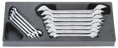 Picture of Double Open End Metric Wrench Set 11pc