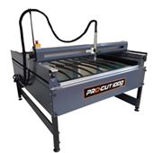 Picture of 1.25M x 1.25M Plasma Cutting Table Manual THC