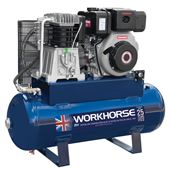 Picture of Workhorse Diesel Air Compressor 10HP 150L E/Start
