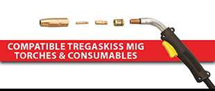 Picture for category Compatible Tregaskiss MIG Torches & Consumables