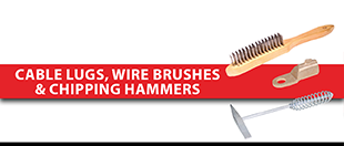 Picture for category Chalk, Cable Lugs, Wire Brushes & Chipping Hammers