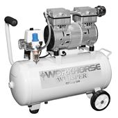 Picture of 1HP 24L Oil Free Low Noise Compressor