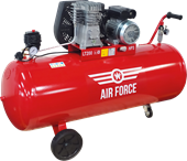 Picture of Air Force Air Compressor 3HP 200L 230V Portable