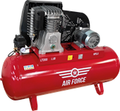 Picture of Air Force Air Compressor 5.5HP 200L 400V Static