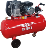 Picture of Air Force Air Compressor 3HP 100L 230V Portable