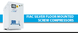 Picture for category Fiac Silver Floor Mounted Screw Compressors