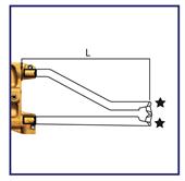Picture of Arms c/w Caps Cranked L=330mm (Pair) 18mm Diameter