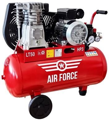 Picture of Air Force Air Compressor 3HP 50L 230V Portable