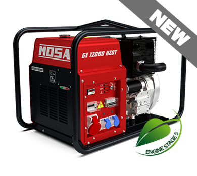 Picture of GE12000 HZDT-L AVR Diesel Generator 400/230V