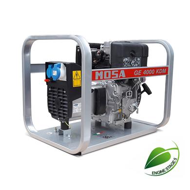 Picture of GE4000 KDM Diesel Generator 230V